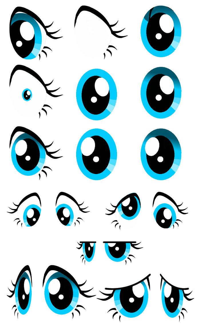 Drawn my little pony eye Pony pony ojos  my
