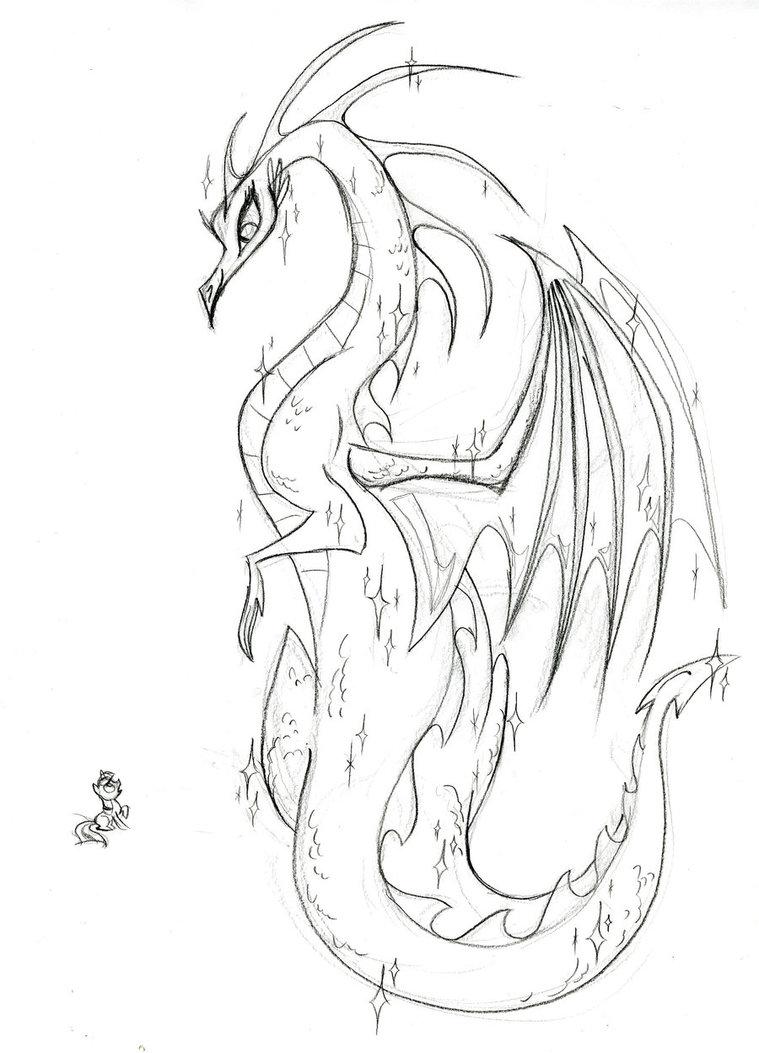 Drawn my little pony female Powered Sketch Magic Pony