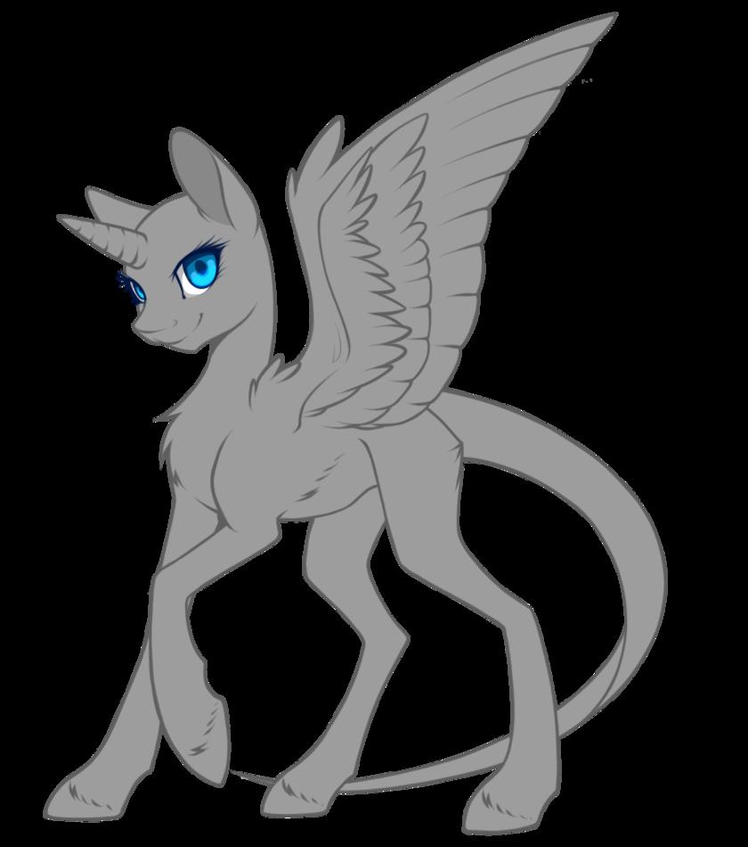 Drawn my little pony female Umbra by Pony Pony silent