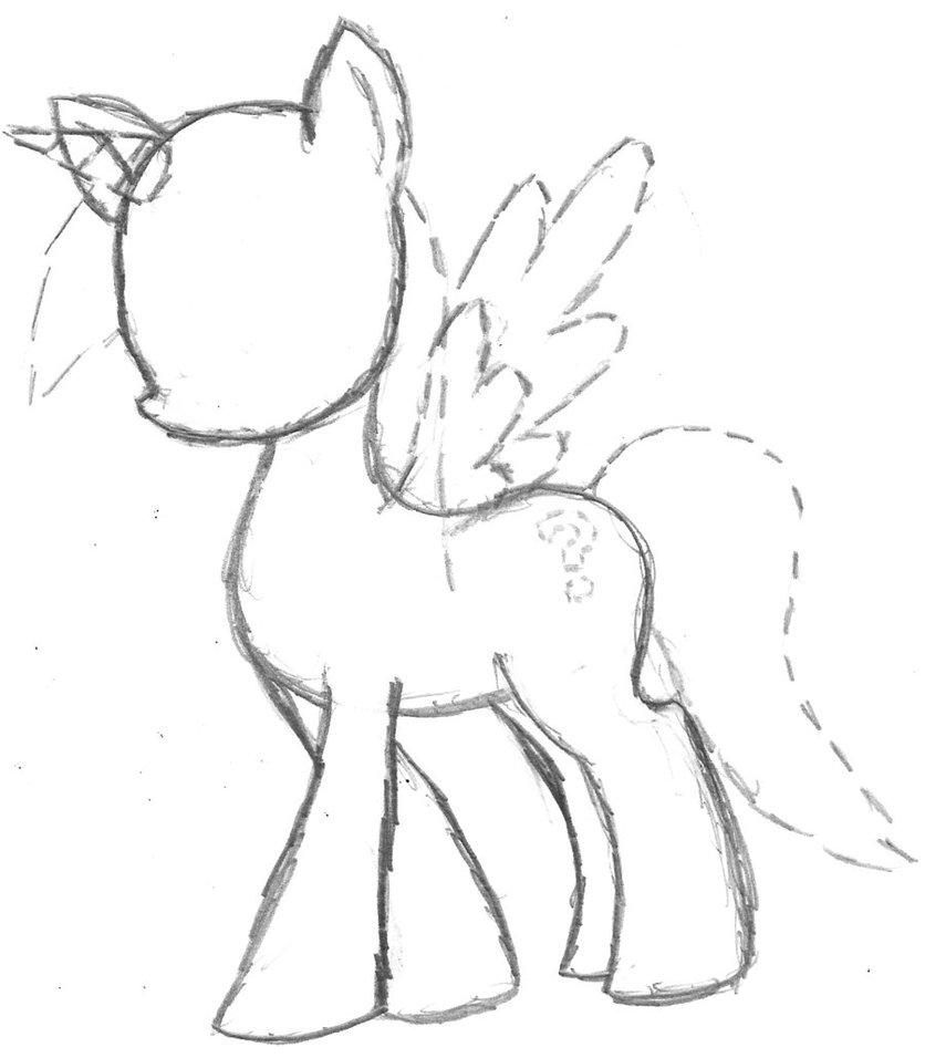 Drawn my little pony female Aros2 Base FIM FIM by