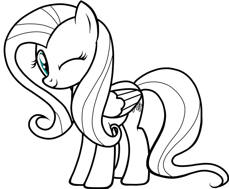 Drawn my little pony fluttershy More this 4 by on