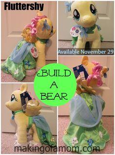 Drawn my little pony fluttershy build a bear Bear Little Build A Workshop