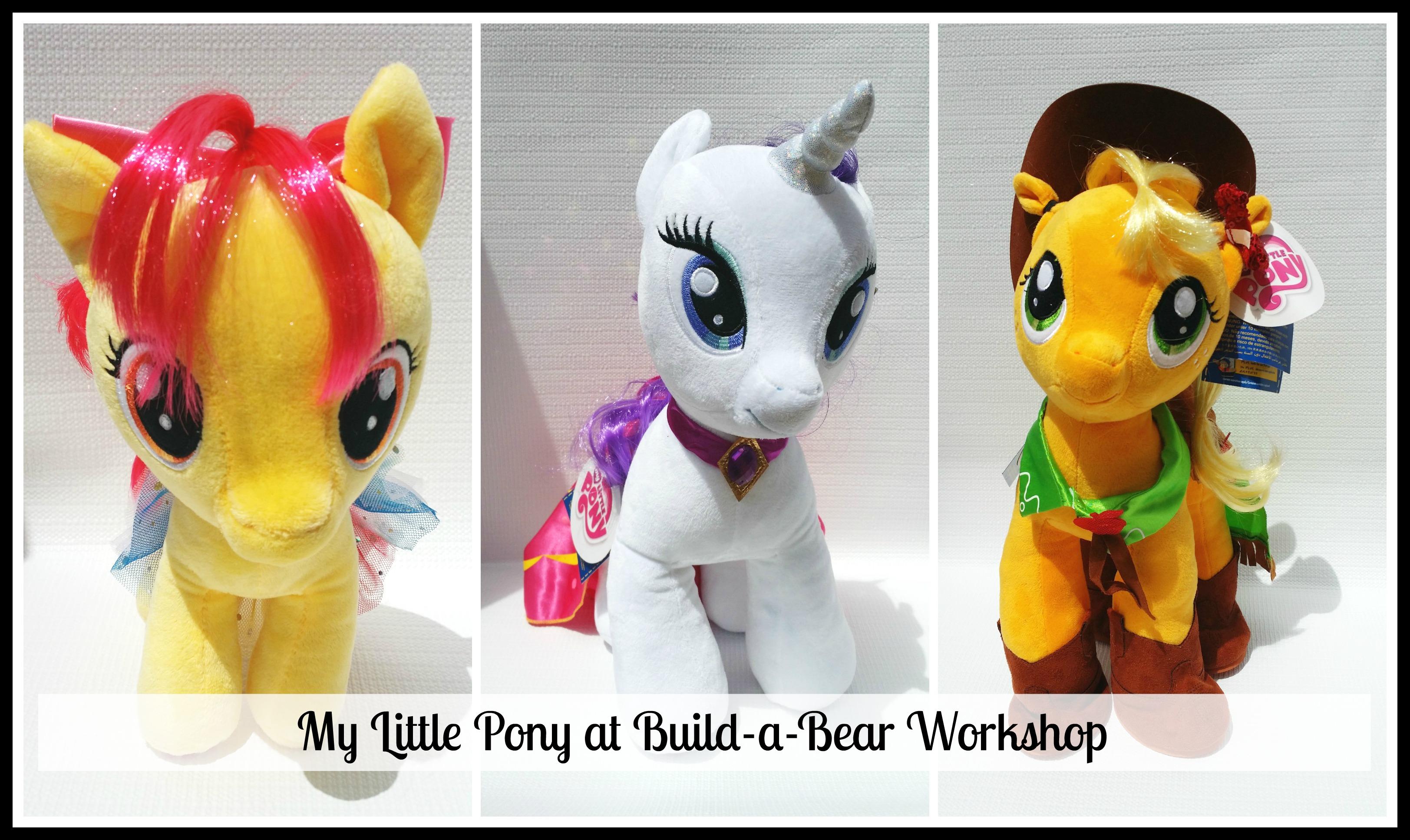 Drawn my little pony fluttershy build a bear Cori's Bear Kid to ponies