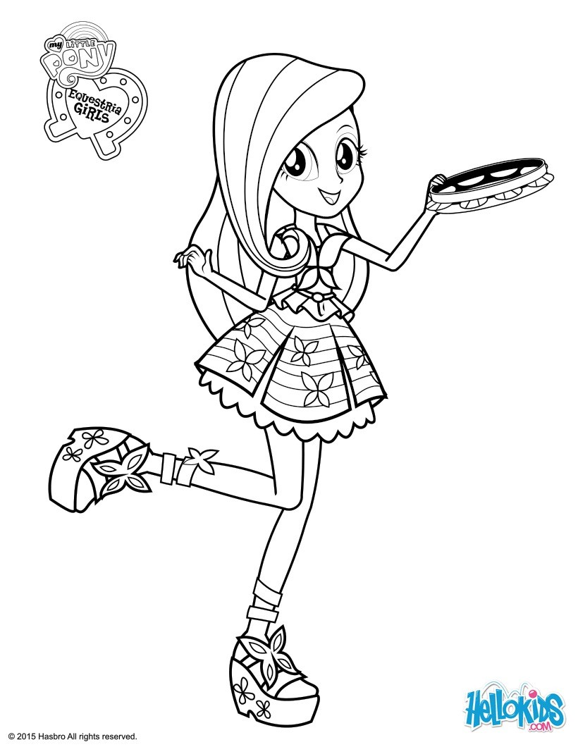 Drawn my little pony fluttershy coloring Pages coloring Hellokids page com