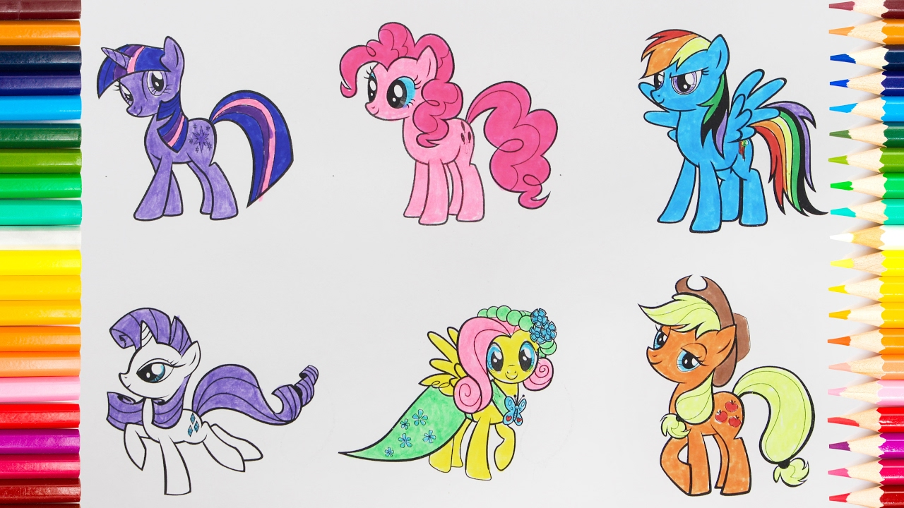 Drawn my little pony for kid My picture Pony Little