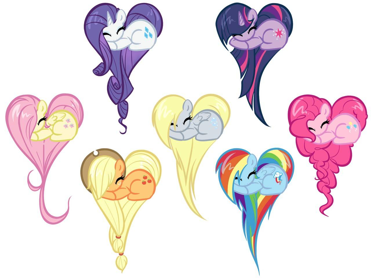 Drawn my little pony friendship is magic heart My Pinterest little Friendship on