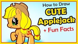 Drawn my little pony fun2draw My Pony Pony Applejack Super