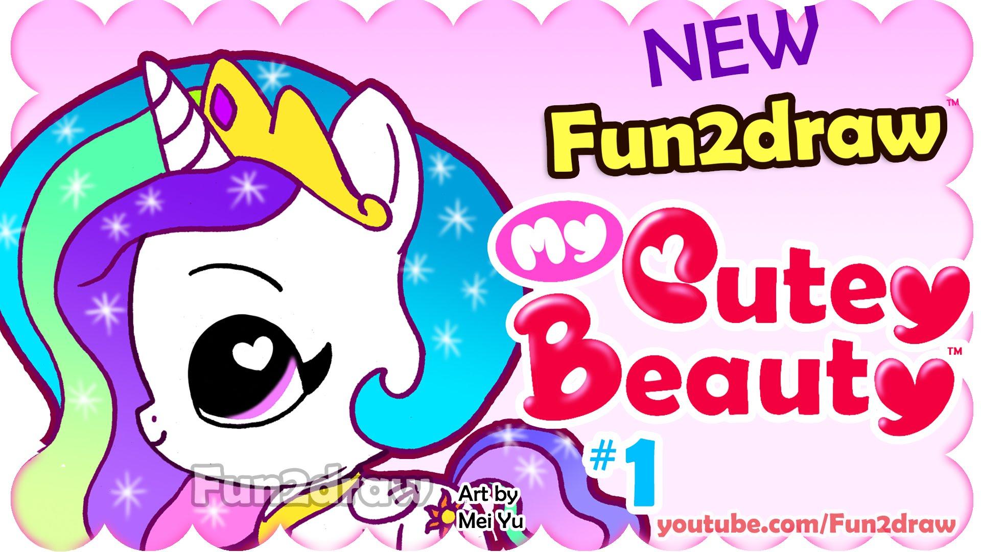 Drawn my little pony fun2draw Draw Super Princess Cute to
