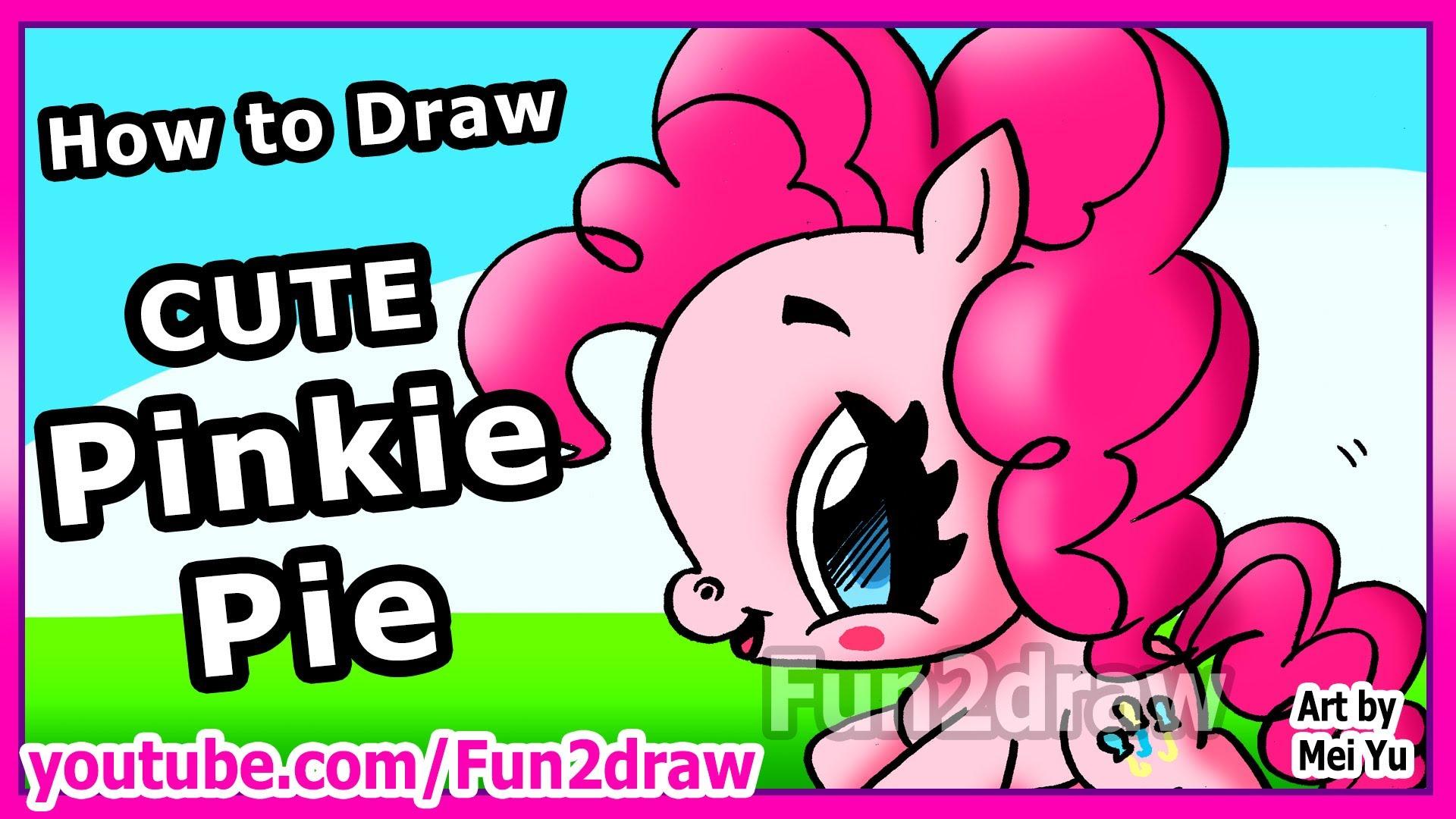 Drawn my little pony fun2draw Movie Pinkie to Pie Movie