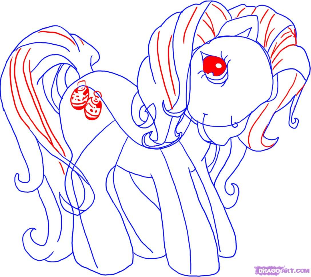 Drawn my little pony hair Kimono Cartoons to Cartoons 3