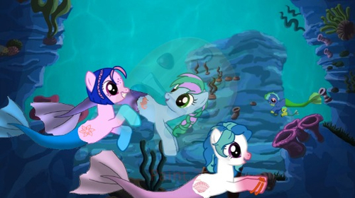 Drawn my little pony hippocampus Isn't the this show MLP