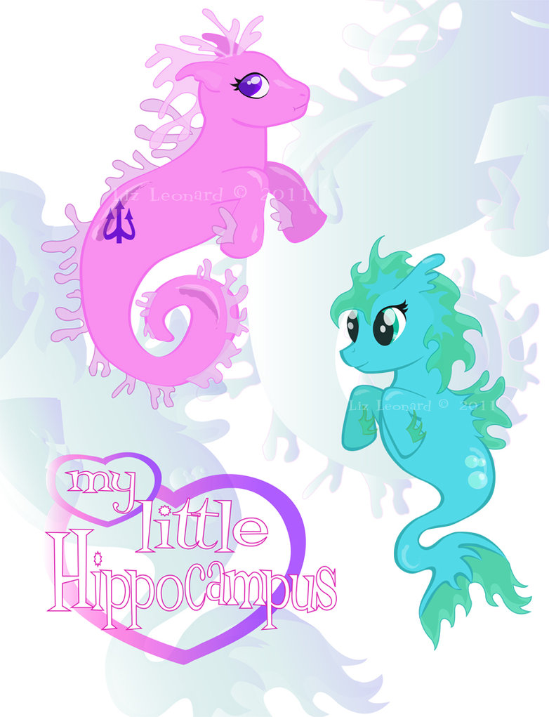 Drawn my little pony hippocampus Little roguehobbit Hippocampus on by