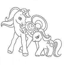Drawn my little pony igrica Games Free pages her baby