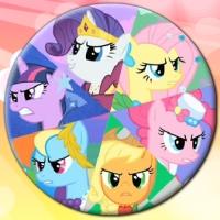 Drawn my little pony igrica A Be Puzzle My Pony