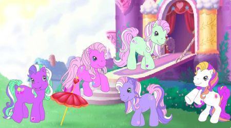 Drawn my little pony igrica Pon… Trixie Little Toss Little