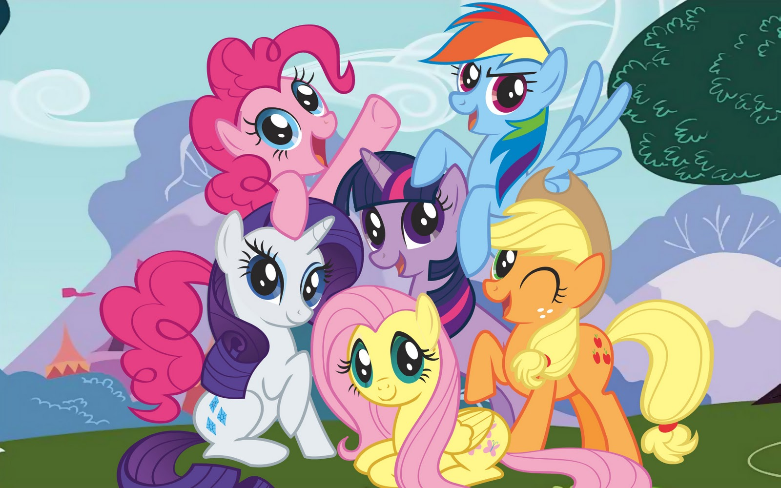 Drawn my little pony igrica A Be Games My Little
