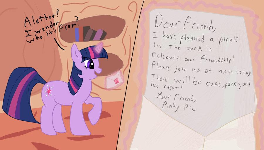 Drawn my little pony letter Cutscene jpg Cutscene Mysterious The