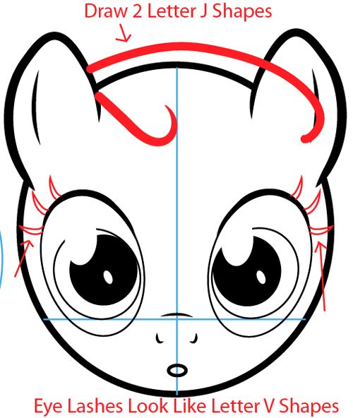 Drawn my little pony letter Pinterest on step62 about little