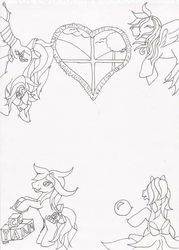 Drawn my little pony littel » Forums baby Nursury; in