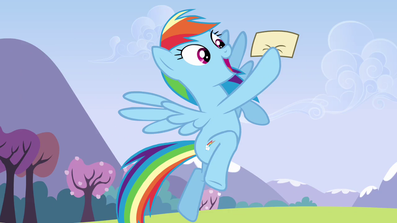 Drawn my little pony letter Happy png happy holding while