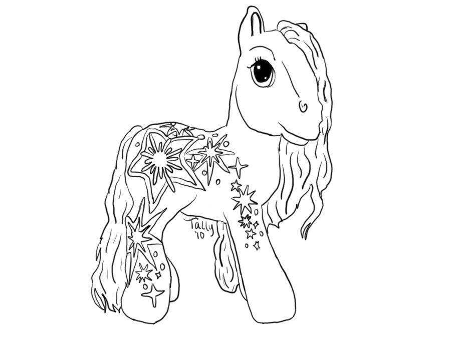 Drawn my little pony line art My by line by art