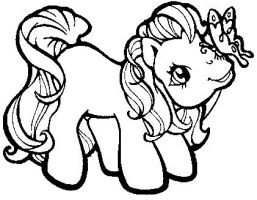 Drawn my little pony littel Sweets Little by Pony 4