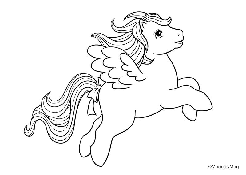 Drawn my little pony line art Lineart MoogleyMog Pegasus on MoogleyMog