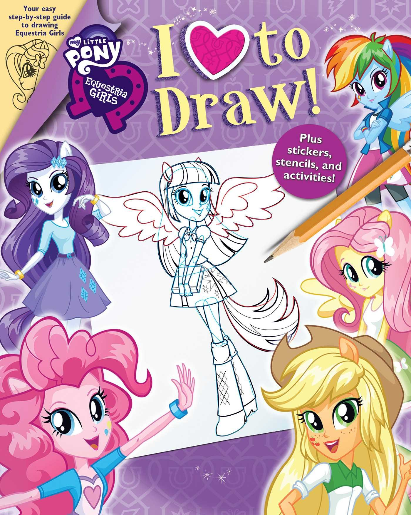 Drawn my little pony littel Books Little I Pony: Girls: