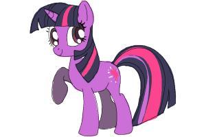 Drawn my little pony lttle Little Step to Pony Draw