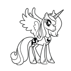Drawn my little pony maj Will Top Coloring 'My Pony'