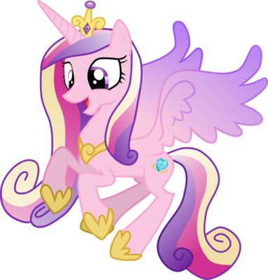 Drawn my little pony name How Magic Little Cadence Pony: