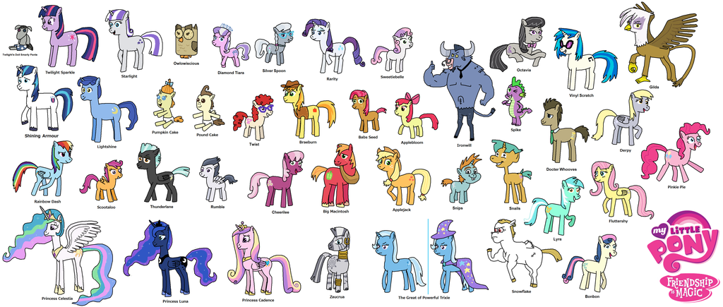 Drawn my little pony name Pony Google Search  little