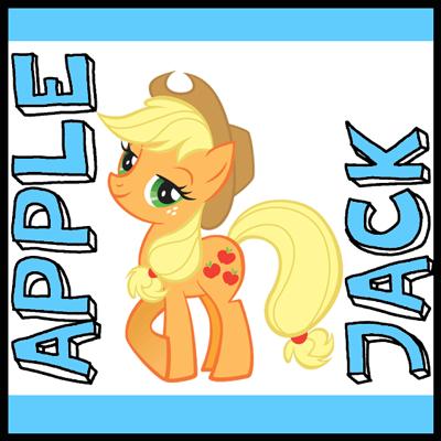 Drawn my little pony name Little to Pony Jack Magic
