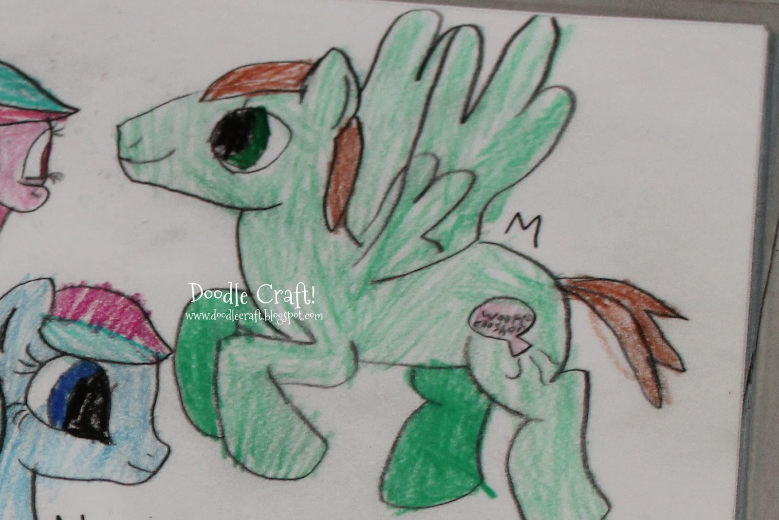 Drawn my little pony own Own Doodlecraft: My and Little