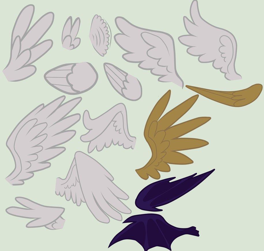 Drawn my little pony pegasus wing Wings Mlp Jeremy MLP MLP