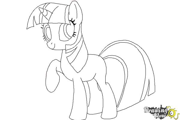 Drawn my little pony pencil drawing To to Step Draw My