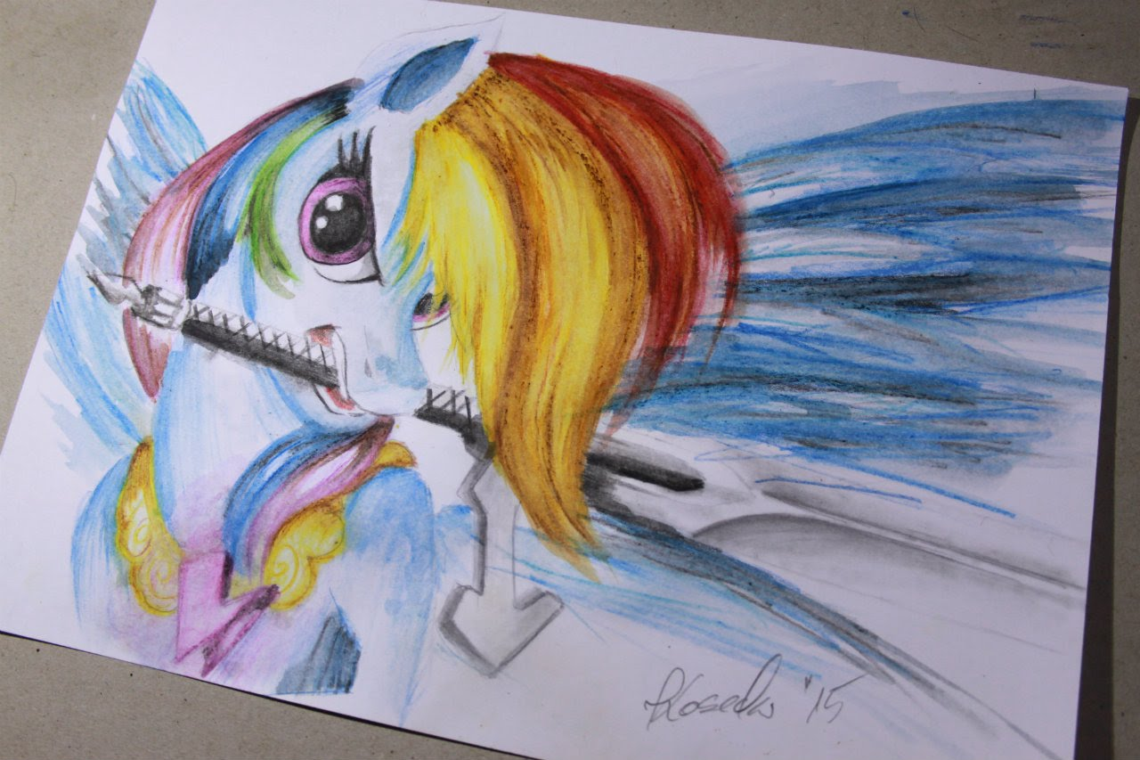 Drawn my little pony pencil drawing To My Dash draw My