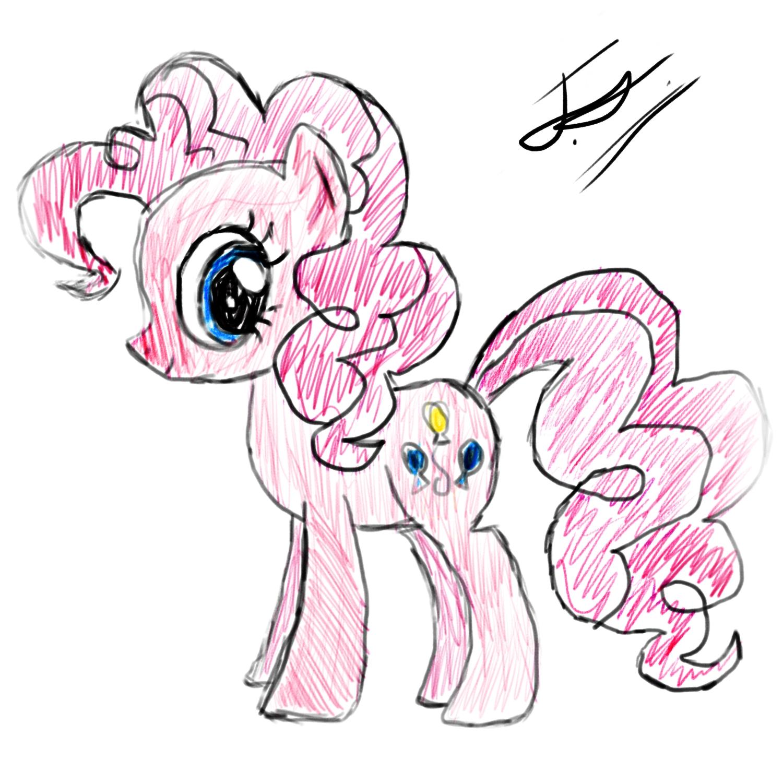 Drawn pie Friendship Know Pony: Drawing Pie