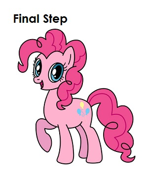 Drawn pony pinkie pie Pinkie Pie to Draw Little