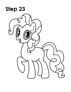 Drawn pony pinkie pie Pinkie Pinkie How to (My