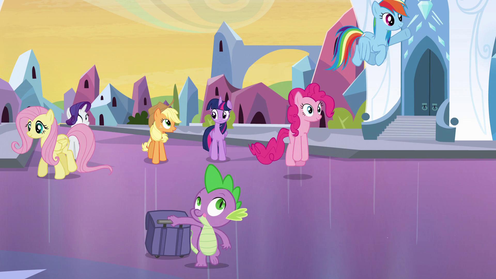 Drawn my little pony pitcher EG Empire is Crystal Friendship