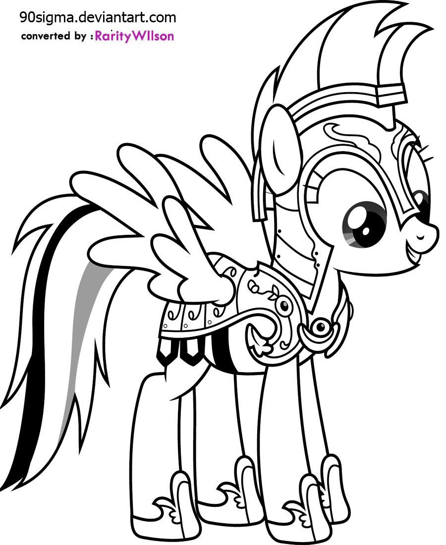 Drawn my little pony pitcher Coloring Pony Little Pony My