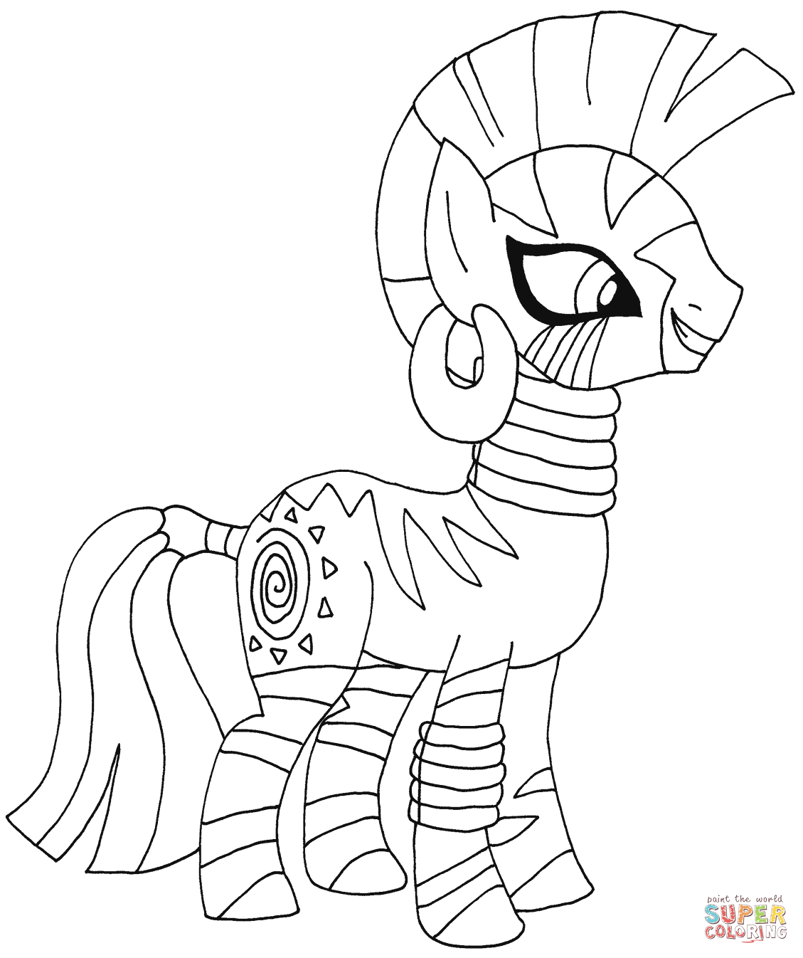 Drawn my little pony pitcher Pony Little My Pages Coloring