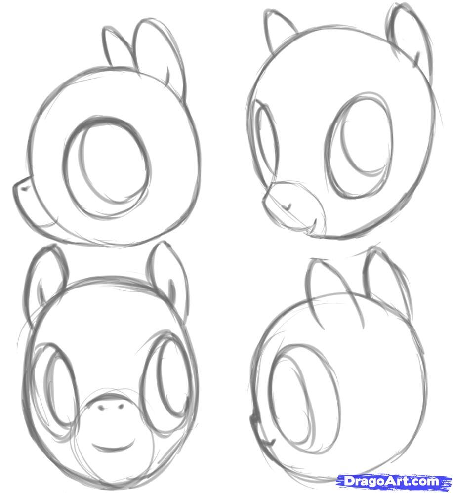 Drawn my little pony pony head MLP How Pinterest How Pony