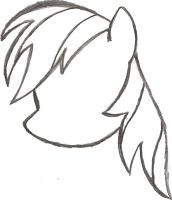 Drawn my little pony pony head On by My Pony AncientOwl