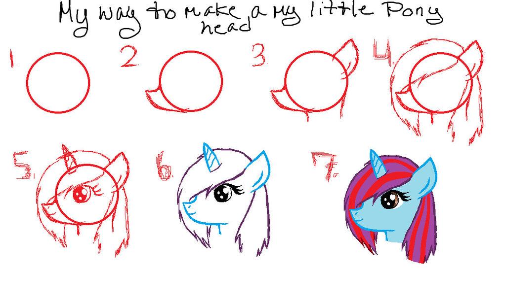 Drawn my little pony pony head Pony pony My on My