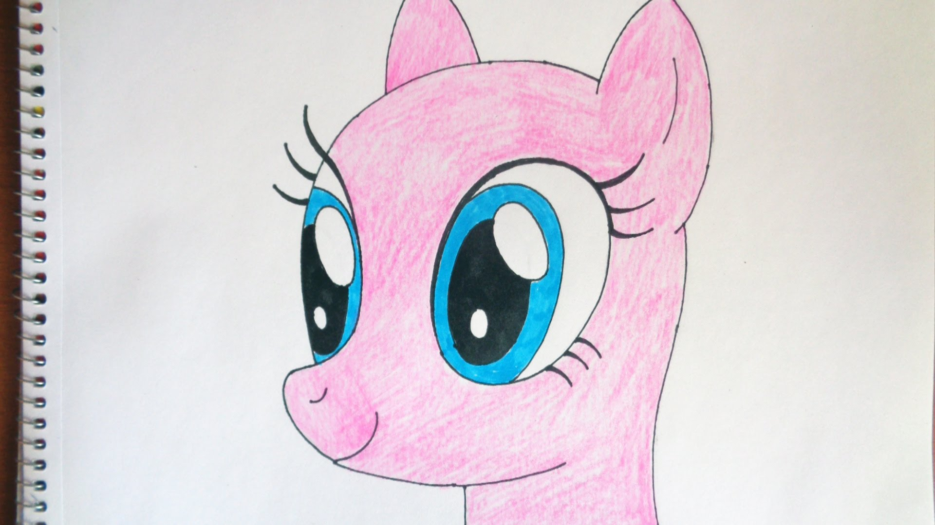 Drawn my little pony pony head My Как How Как рисовать