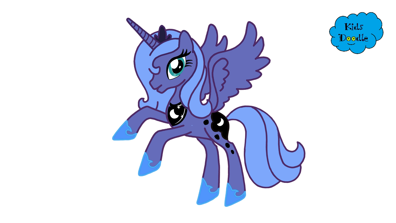 Drawn my little pony princess My step from Princess