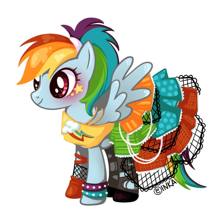 Drawn my little pony punk Pinterest little images My My