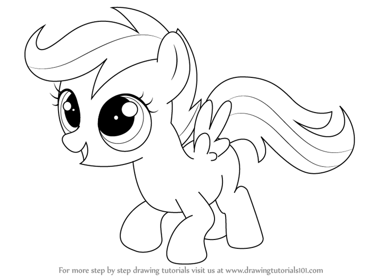 Drawn my little pony real Magic Learn Little  Is